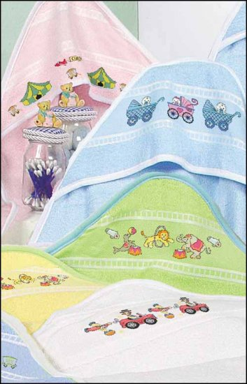 click here to view larger image of Hooded Baby Towel (stitchable)