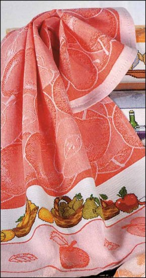 click here to view larger image of Bon Appetit Kitchen Towel (stitchable)