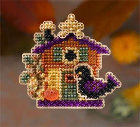 click here to view larger image of Halloween House (2006) (counted cross stitch kit)