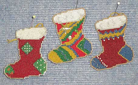 click here to view larger image of Christmas Stockings (chart)