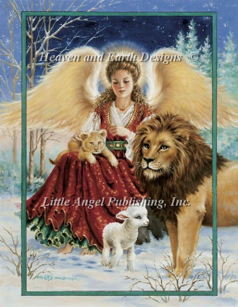 click here to view larger image of Angel Lion and Lamb (chart)