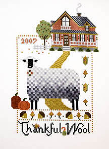 click here to view larger image of Thankful Wool  (chart)